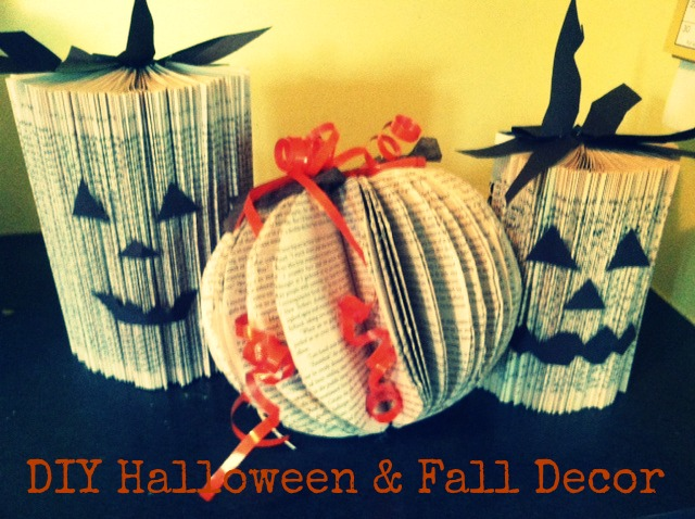 From chrysalis to butterfly diy halloween fall decorations for Fall decorating ideas with construction paper
