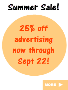 Summer Advertising Sale!