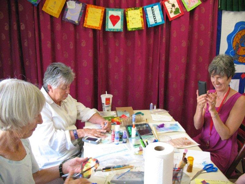 prayer flag workshop