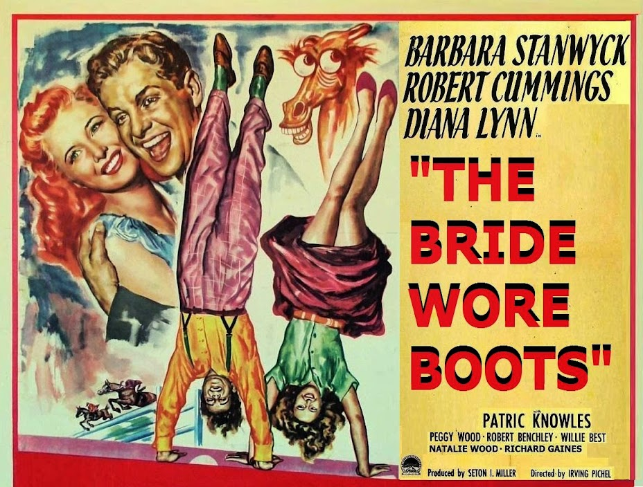 THE BRIDE WORE BOOTS (1946) WEB SITE