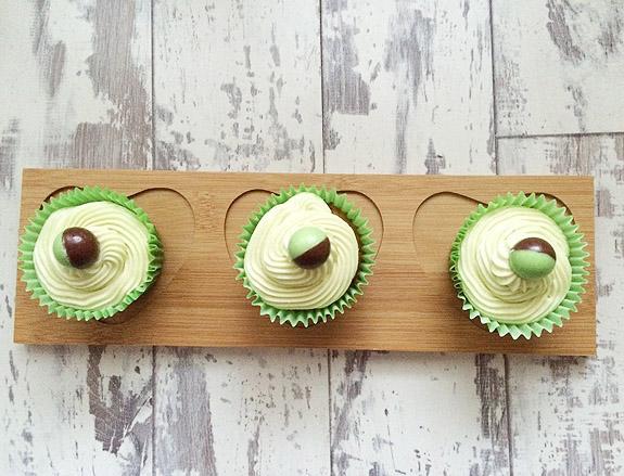 Aero Mint Cupcakes