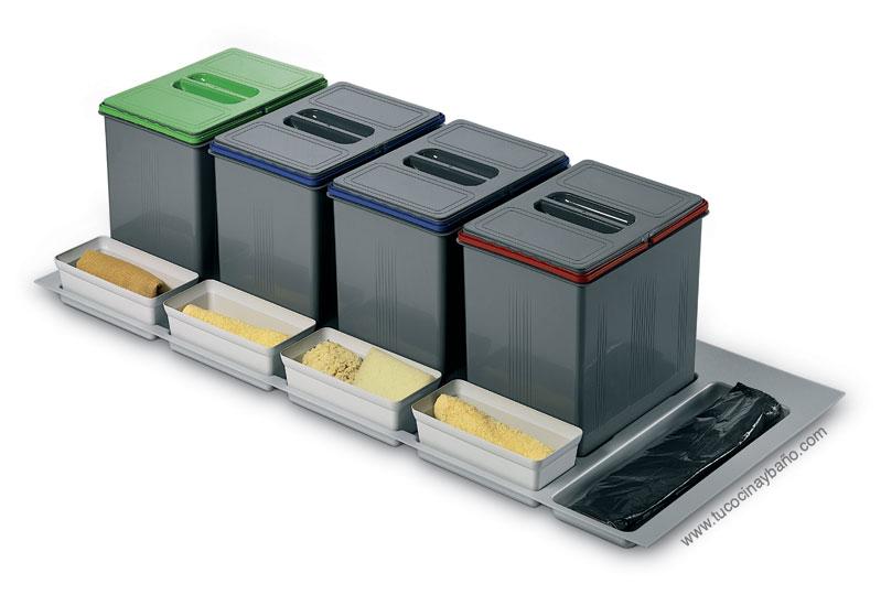 kit cubos reciclaje cocina