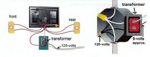 Multi Voltage Doorbell Transformer Wiring Diagram. Multi. Car ...