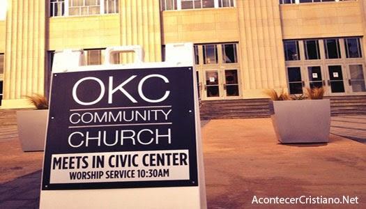 Iglesia en Centro Cívico de Oklahoma
