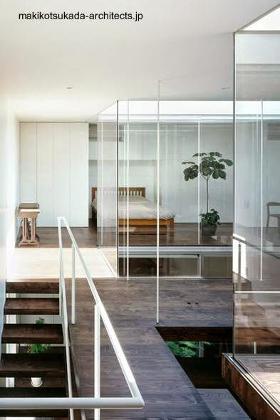 Vista del interior de la casa en la planta alta