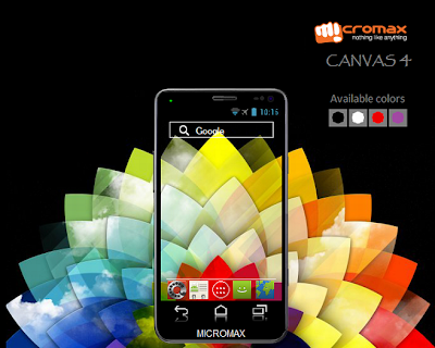 Micromax Canvas 4 A210 review