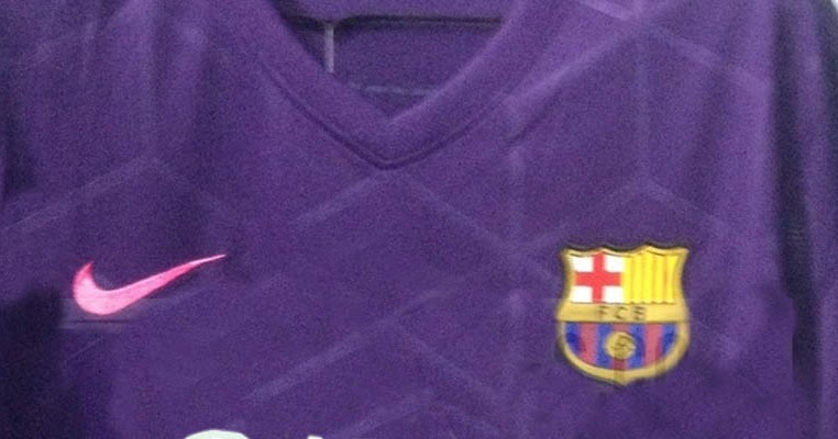 Fc Barcelona   Away Kit Leaked Footy Headlines