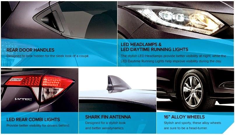 Model Urban SUV Honda HR-V Baru - Harga-varian-spesifikasi