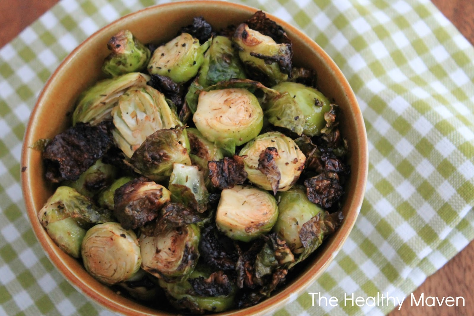 Spicy Grilled Brussels Sprouts- The Healthy Maven