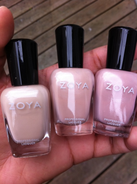 zoya+touch Nude Attitude: Zoya Touch Collection