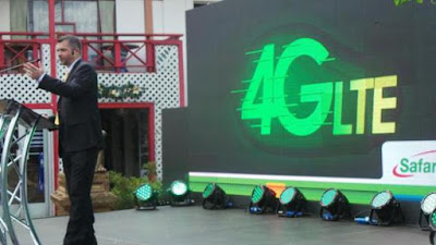 Safaricom 4G lte