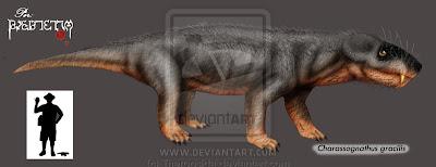 terapsidos del permico Charassognathus
