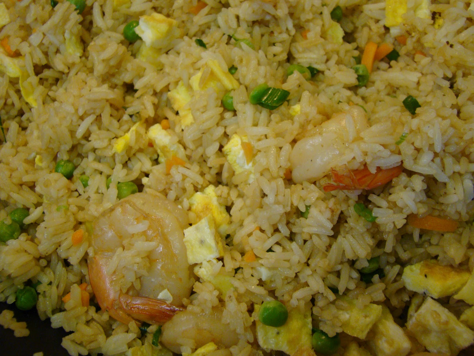 shrimp fried rice recipe 1 large bowl cooked jasmine rice cook 4 cups ...