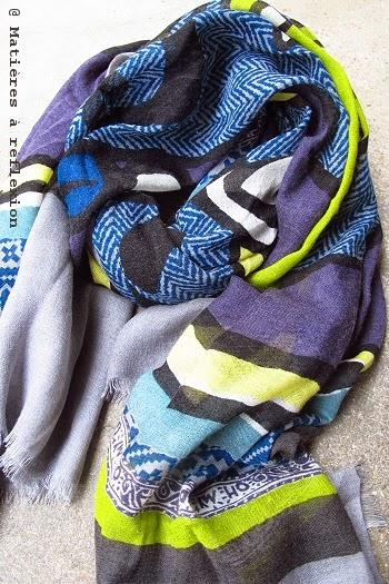 foulard en laine Mii accessoires