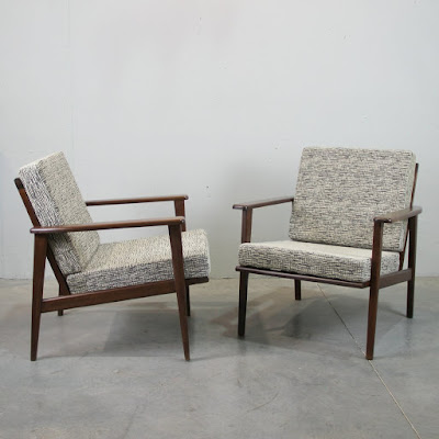 pareja de sillones nórdicos de los años 50