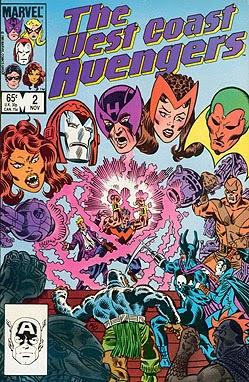 Portada de West Coast Avengers #2