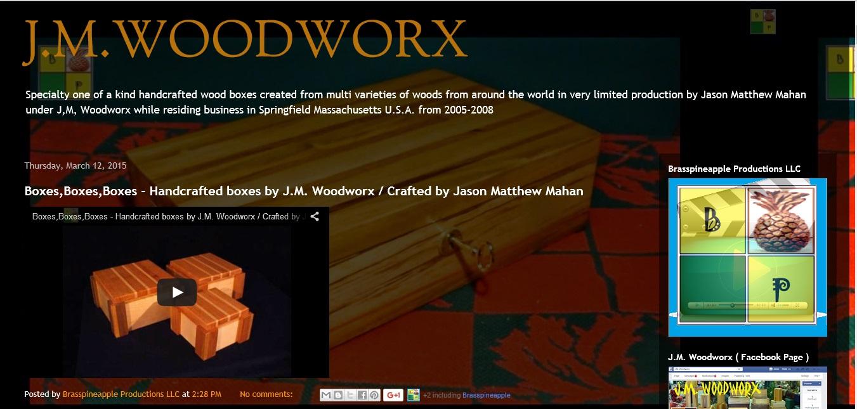 J.M WOODWORX PROJECT