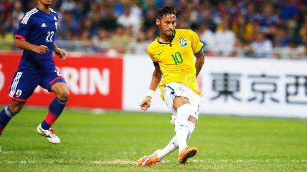 Neymar bate record de gols em 2014