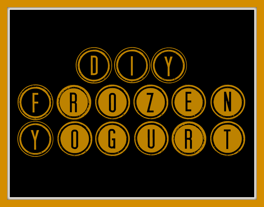 DIY-Frozen-Yogurt