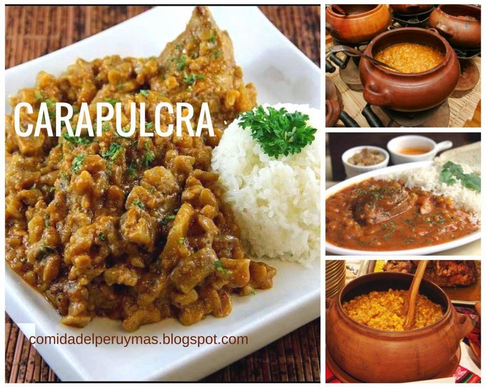 Como preparar una carapulcra recetas peruanas recetas for Preparar comida
