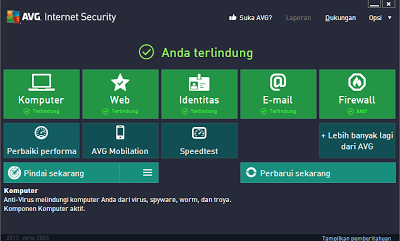 Download AVG Internet Security + Key