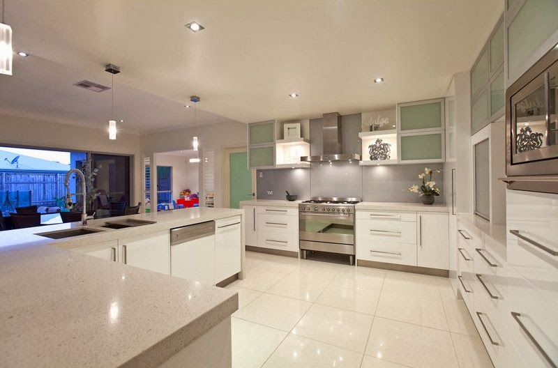 Hogares frescos 10 dise os de cocinas fabulosas muebles - Campanas modernas para cocinas ...