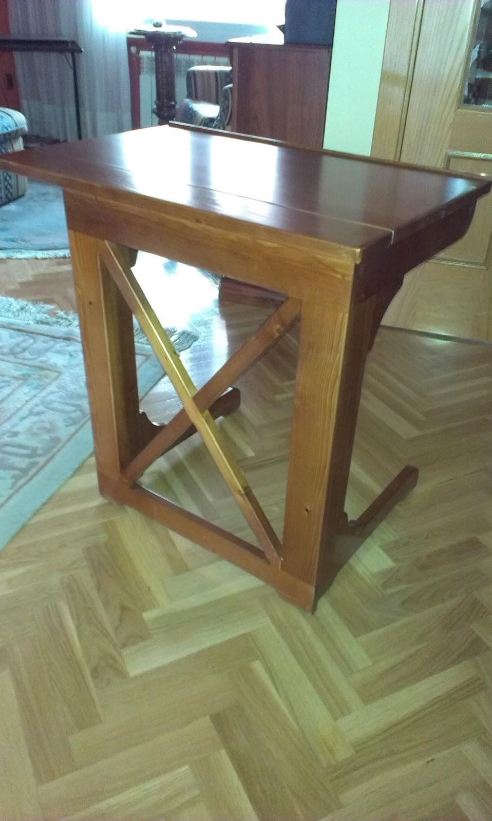 Muebles a medida mesa plegable para ordenador etc for Mesa plegable para ordenador