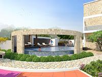 2 BHK Flats In Dhayari, Pune, Infinity edge swimming pool in ujwal paradise