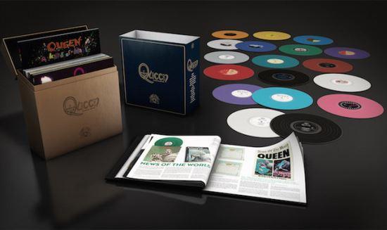 QUEEN: Βινυλιακό box set με όλα τα στούντιο albums τους