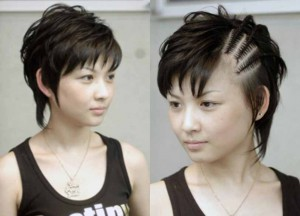 SYAZA Fesyen Rambut - Gaya rambut pendek emo