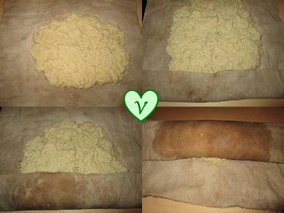 aceto balsamico, affumicare, amido di mais, arrosto, brodo, cannella, carote, Giorno del Ringraziamento, maggiorana, mele, mirtilli rossi, noce moscata, ricette vegan, scalogno, Secondi, seitan, soia, tamari, tè,