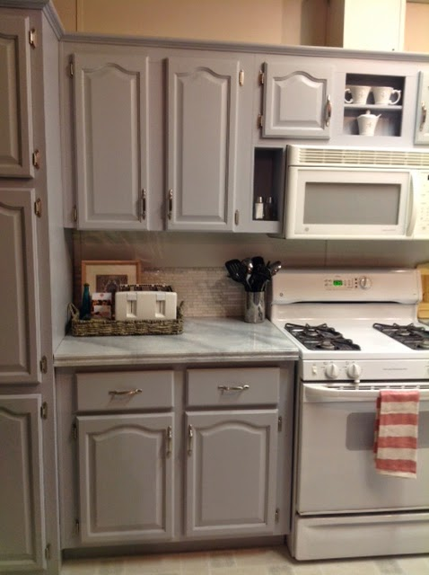 Image Result For How To Paint Laminate Kitchen Cabinets
