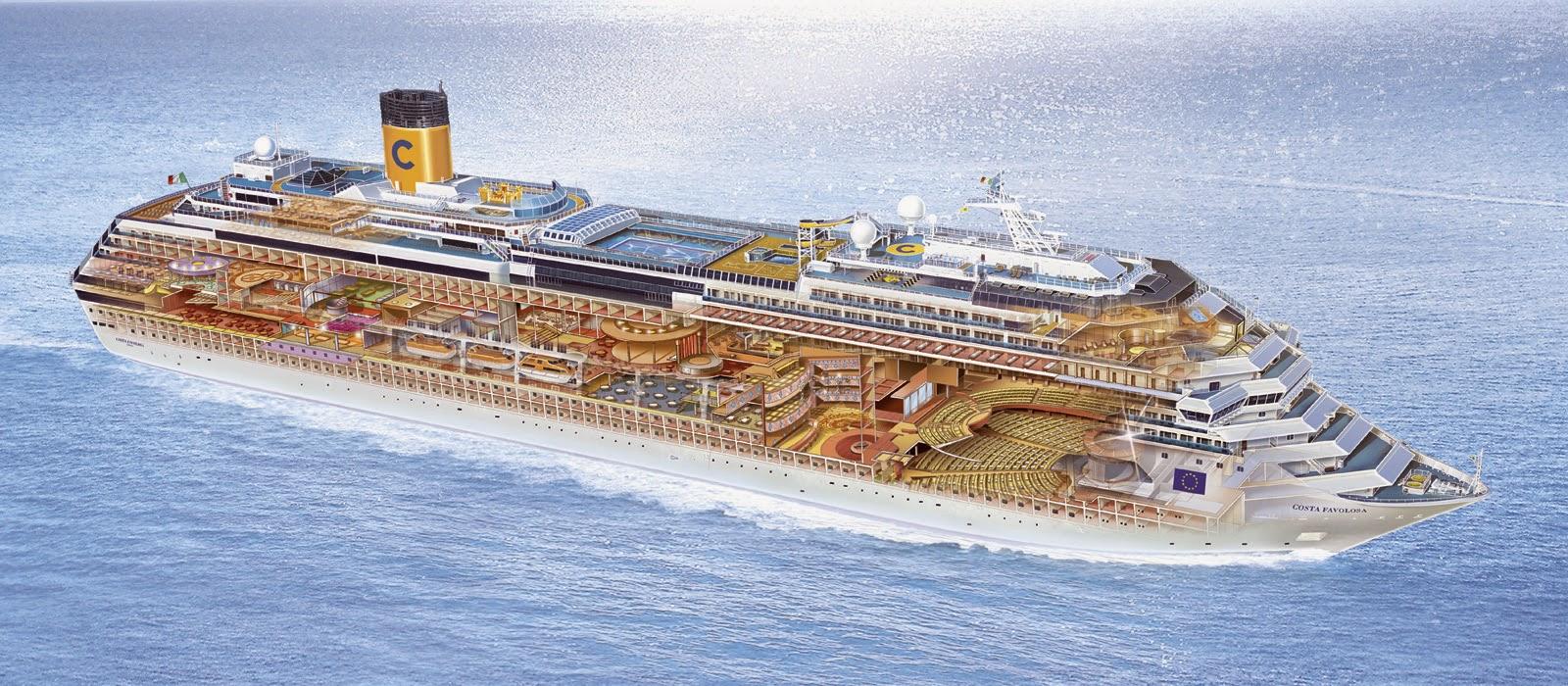 Barco Costa Favolosa
