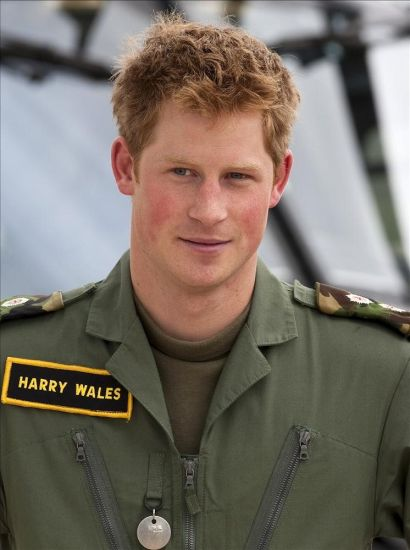prince harry tattoos. Prince Harry Is Serving As The