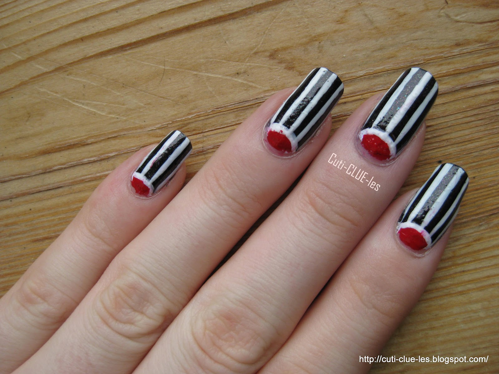Nail Art Black White Red The Best Inspiration For Design And Color