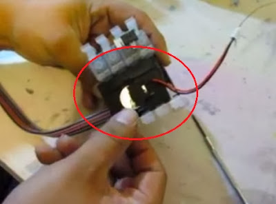 Расположение батарейки в СНПЧ