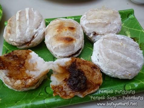 "Kuliner Palembang - Lenggang dan Pempek Panggang ""SAGA"""