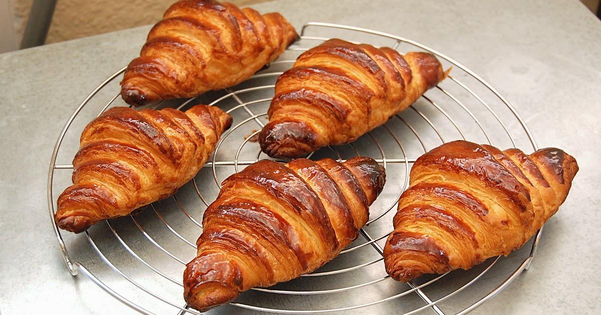 Cook , eat & move fast !: CROISSANTS
