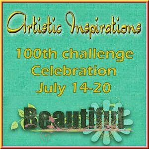 Artistic Inspirations 100th Challenge Celebrations