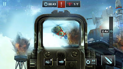 Sniper Fury v1.0.0l MOD APK + DATA (Unlimited Ammo) Android