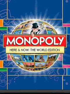 Screenshots of the Monopoly here and now: The world edition Java Game for java mobile, phone.