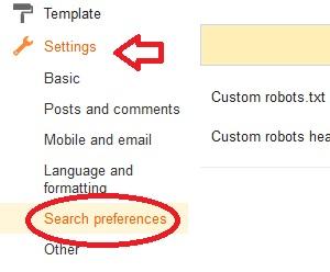 cara supaya artikel cepat diindeks google, setting pencairan blogspot di indeks google