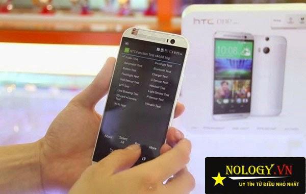 Hướng dẫn test HTC One M8 chuẩn nhất