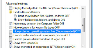 hide protected file