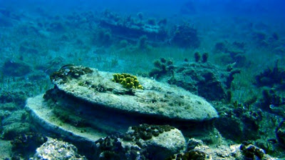 Architectural remains found off Zakynthos shore