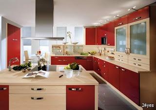 Contoh Desain Interior Dapur Modern 2015
