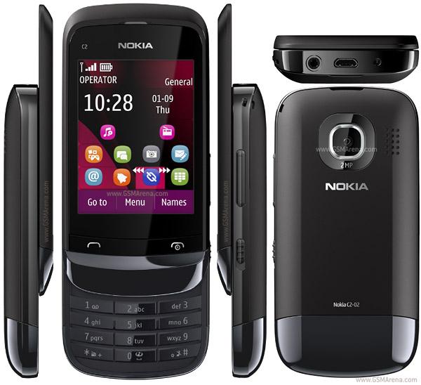 Spesifikasi Harga Nokia C2-06