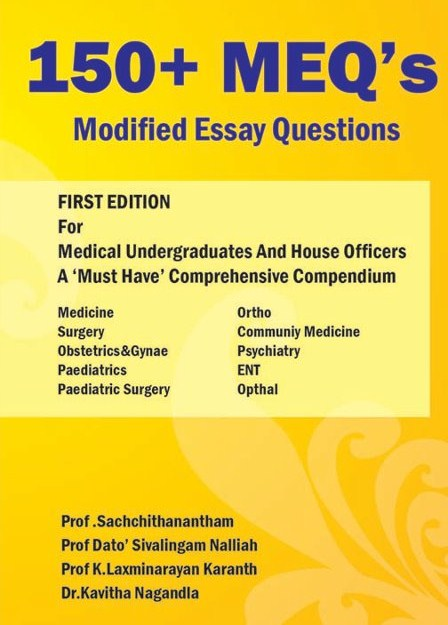 Meq modified essay questions