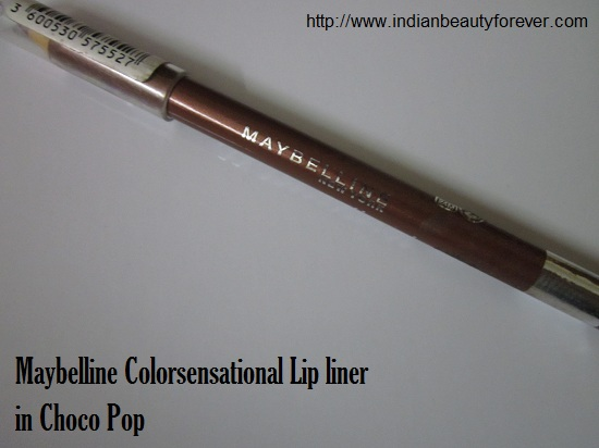 Lip liner in Choco Pop