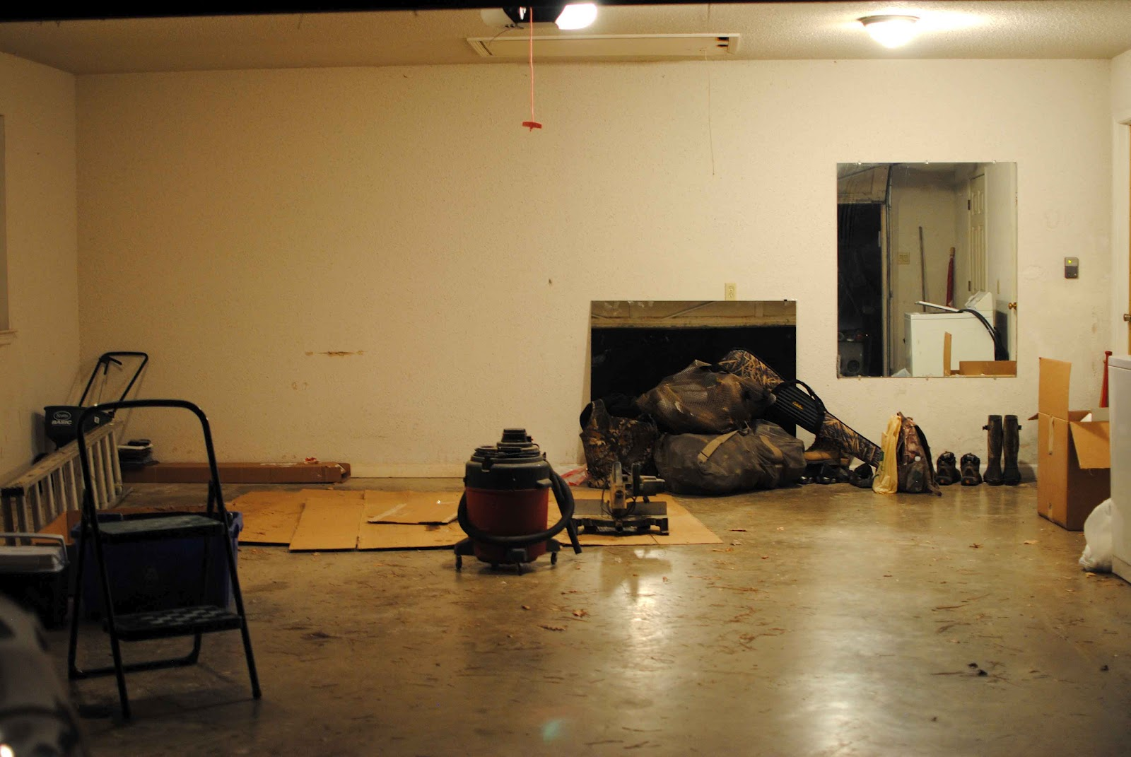 The Northens How To Remove Popcorn Ceiling Amp A Garage